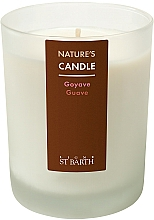 Fragrances, Perfumes, Cosmetics Paraffin Candle with Guava Scent - Ligne St Barth Body