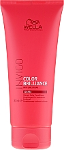 Fragrances, Perfumes, Cosmetics Color Brightening Coarse Colored Hair Conditioner - Wella Professionals Invigo Colour Brilliance Coarse Conditioner
