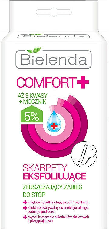 Exfoliating Socks - Bielenda Comfort Exfoliating Socks