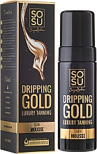 Fragrances, Perfumes, Cosmetics Self-Tanning Body Mousse - Sosu by SJ Dripping Gold Luxury Tanning Mousse