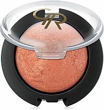 Fragrances, Perfumes, Cosmetics Baked Blush - Golden Rose Terracotta Blush On