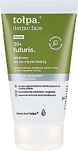 Fragrances, Perfumes, Cosmetics Clay Face Wash Gel - Tolpa Dermo Face Futuris 30+ Cleansing Gel
