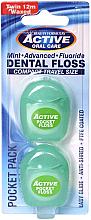 Fragrances, Perfumes, Cosmetics Waxed Mint Dental Floss, 12 m - Beauty Form Active Oral Care Dental Floss