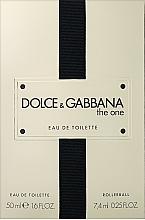 Fragrances, Perfumes, Cosmetics Dolce&Gabbana The One - Set (edt/50ml + edt/7.4ml)