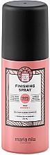 Fragrances, Perfumes, Cosmetics Medium Hold Hair Spray - Maria Nila Finish Spray