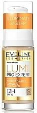 Fragrances, Perfumes, Cosmetics Face Foundation - Eveline Cosmetics Lumi Pro Expert SPF10