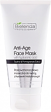 Fragrances, Perfumes, Cosmetics Hyaluronic Acid Anti-Wrinkle Mask - Bielenda Professional Face Program Anti-Age Face Mask With Hyaluronic Acid