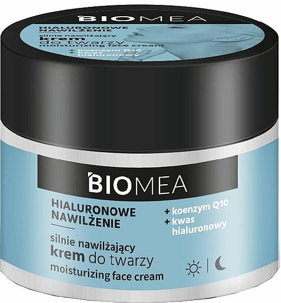 Moisturizing Day & Night Face Cream with Coenzyme Q10 - Farmona Biomea Moisturizing Face Cream