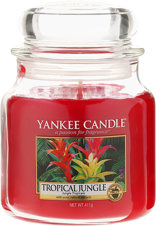Scented Candle in Jar - Yankee Candle Tropical Jungle