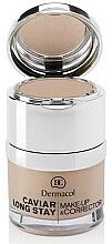 Fragrances, Perfumes, Cosmetics Face Corrector - Dermacol Caviar Long Stay Make-Up & Corrector