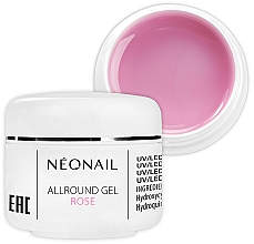 Fragrances, Perfumes, Cosmetics 1-Phase Rose Gel - NeoNail Professional Allround Gel Rose