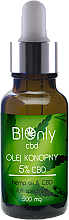 Fragrances, Perfumes, Cosmetics Hemp Oil CBD 5% - BIOnly