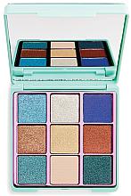 Fragrances, Perfumes, Cosmetics Eyeshadow Palette - I Heart Revolution Glitter Palette