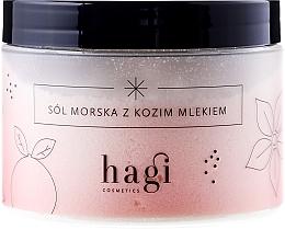 "Fragrances, Perfumes, Cosmetics Sea Salt for Bath ""Goat Milk"" - Hagi Bath Salt"