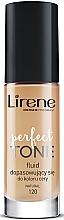 Fragrances, Perfumes, Cosmetics Foundation Fluid - Lirene Perfect Tone Fluid
