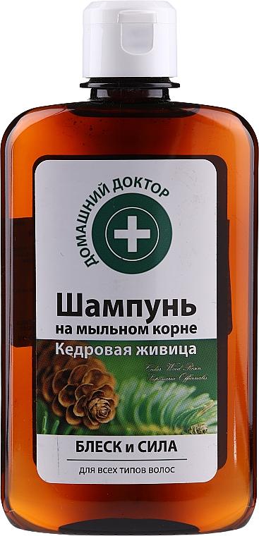 "Shine & Strength Shampoo ""Cedar Resin"" - Domashniy Doktor"
