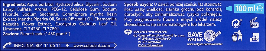Toothpaste - Colodent Mocne Dziąsła — photo N2
