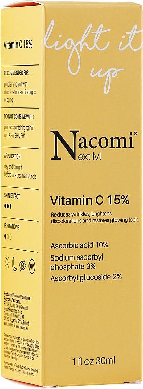 Vitamin C 15% Face Serum - Nacomi Next Level Vitamin C 15%
