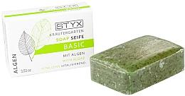 "Fragrances, Perfumes, Cosmetics Soap ""Sea Algae"" - Styx Naturcosmetic Basic Soap With Algae"