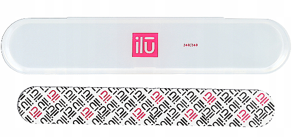 Nail File, in case - Ilu Nail File With Case Medium 240/240