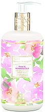 Fragrances, Perfumes, Cosmetics Hand Liquid Soap - Baylis & Harding Royale Bouquet Rose and Honeysuckle Hand Wash