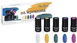 Fragrances, Perfumes, Cosmetics Set - NeoNail Professional Wyrazista Set (5xnail/polish/3ml)