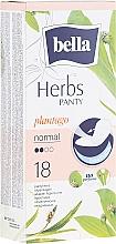 Fragrances, Perfumes, Cosmetics Pantiliners Panty Herbs Sensetive Plantago, 18 pcs - Bella