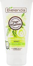 Fragrances, Perfumes, Cosmetics Foot Cream-Gel - Bielenda Vege Mama Cream Foot Gel