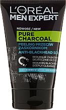 Fragrances, Perfumes, Cosmetics Face Scrub - Loreal Paris Men Expert Pure Charcoal Scrub