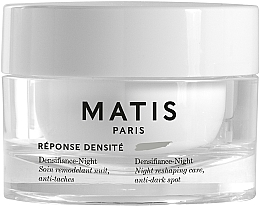 Fragrances, Perfumes, Cosmetics Night Face Cream - Matis Reponse Densite Densifiance-Night