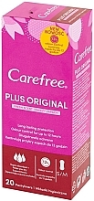 Fragrances, Perfumes, Cosmetics Hygienic Daily Pads, 20pcs - Carefree Plus Original Fresh Scent Pantyliners