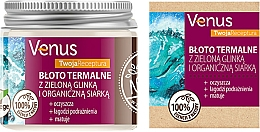 Fragrances, Perfumes, Cosmetics Thermal Mud with Green Clay & Organic Sulfur - Venus Nature Your Recipe Thermal Mud With Green Clay And Organic Sulfur