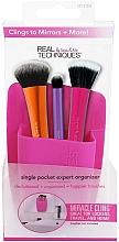Fragrances, Perfumes, Cosmetics Brush Organizer, pink - Real Techniques Single Pocket Expert Beauty Organizer Pink