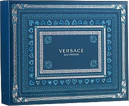 Fragrances, Perfumes, Cosmetics Versace Man Eau Fraiche - Set (edt 50ml + sh/gel 50ml + a/sh 50ml)
