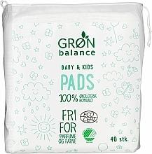 Fragrances, Perfumes, Cosmetics Pads, 40pcs - Gron Balance Baby & Kids Pads