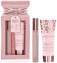 Fragrances, Perfumes, Cosmetics Baylis & Harding Jojoba, Vanilla & Almond Oil - Set (edp/12ml + h/cr/50ml)