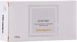 "Fragrances, Perfumes, Cosmetics Hand & Body Soap Bar ""Lemongrass"" - Kanu Nature Soap Bar Lemongrass"
