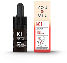 Fragrances, Perfumes, Cosmetics Essential Oil Blend - You & Oil KI-Skin Fungus Touch Of Welness Essential Oil