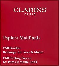 Fragrances, Perfumes, Cosmetics Oil Absorbing Paper - Clarins Kit Pores & Matite (refill)