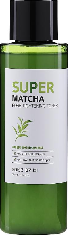 Acid Face Toner - Some By Mi Super Matcha Pore Tightening Toner — photo N1