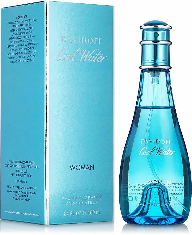 Davidoff Cool Water woman - Deodorant — photo N1