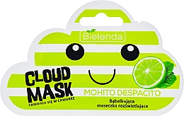 "Fragrances, Perfumes, Cosmetics Facial Cloud Mask ""Mojito"" - Bielenda Cloud Mask Mohito Despacito"