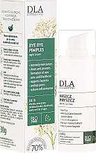 Fragrances, Perfumes, Cosmetics Night Face Cream with Willow and Yarrow - DLA