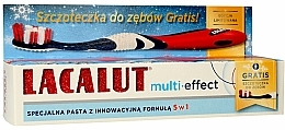 "Fragrances, Perfumes, Cosmetics Toothpaste ""Multi-Effect"" - Lacalut (Toothpaste/75ml + Toothbrush)"