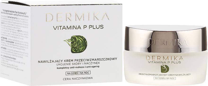 Moisturizing Anti-Wrinkle Cream - Dermika Vitamina P Plus Face Cream