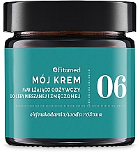 Fragrances, Perfumes, Cosmetics Wheat Germ Oil Cream - Fitomed Cream With Wheat Germ Oil Nr6