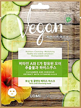 Fragrances, Perfumes, Cosmetics Cucumber, Hibiscus & Vitamins A & E Face Mask - Lomi Lomi Vegan Mask