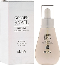 Fragrances, Perfumes, Cosmetics Whitening Serum - Skin79 Golden Snail Intensive Radiant Serum