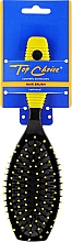 Fragrances, Perfumes, Cosmetics Hair Brush, 2052, black-yellow - Top Choice