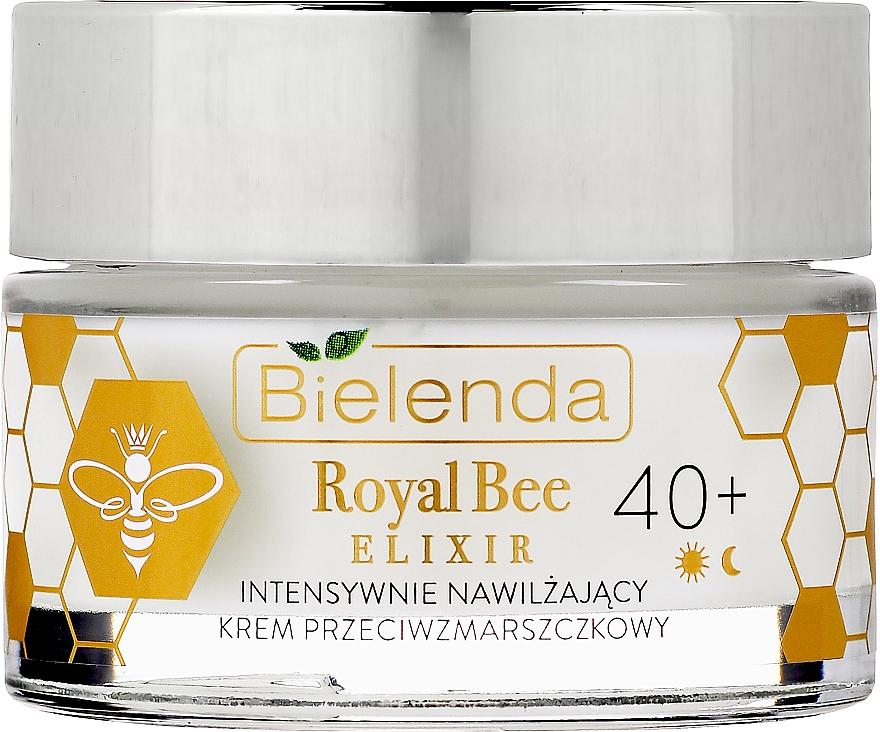 Moisturizing Anti-Wrinkle Cream - Bielenda Royal Bee Elixir 40+ Anti-Wrinkle Moisturizing Cream